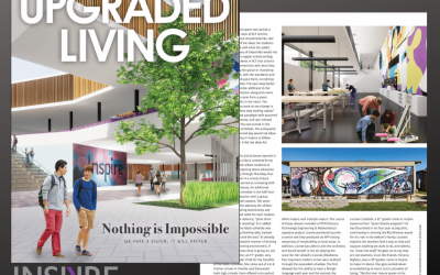 Check Out Inspire School In Upgraded Living Magazine