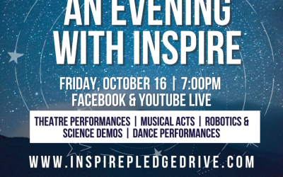 October is Inspire's Pledge Month