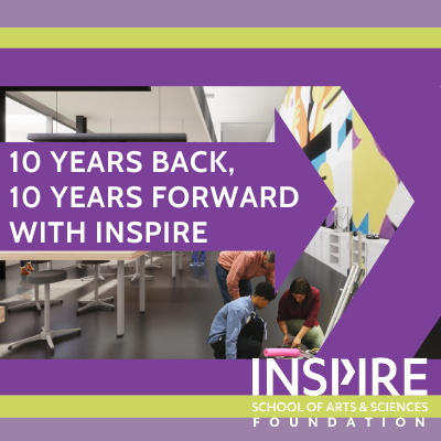 10 years back, 10 years forward with Inspire
