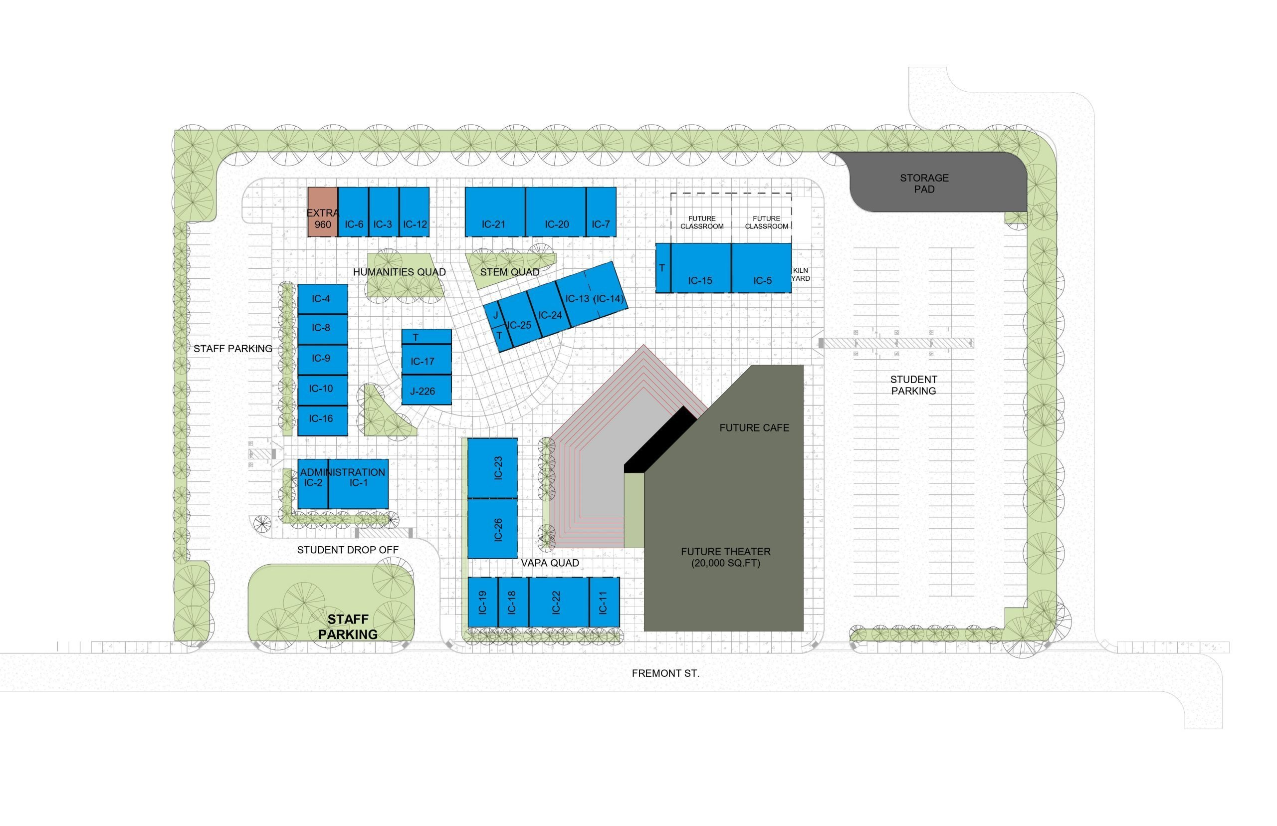 New Campus Site Map