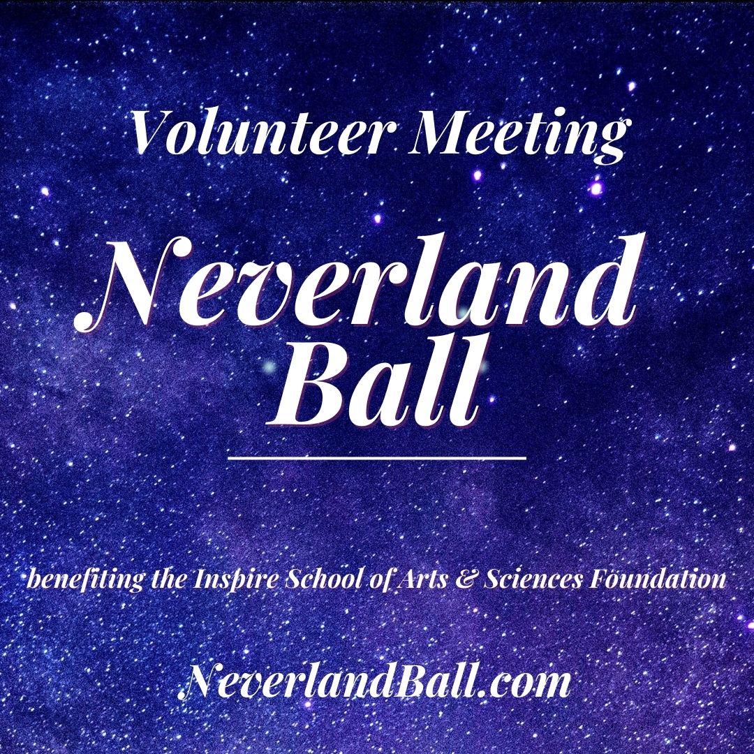 Neverland Ball Planning Meeting
