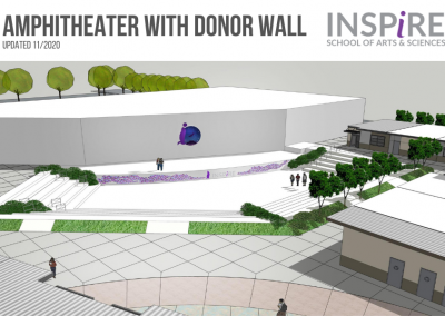 AMPHITHEATER WITH DONOR WALL